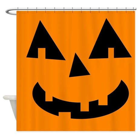 Cute Jack O Lantern Shower Curtain By AlabamaGulfCoast