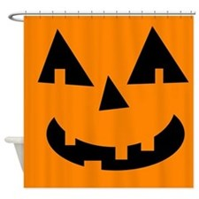 Cute Jack o lantern Shower Curtain