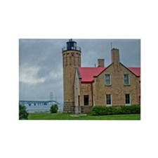 Old Mackinac Point Lighthouse Magnets