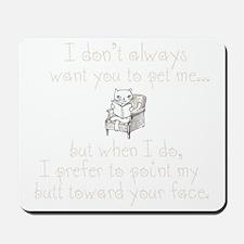 Butt Face Mousepad