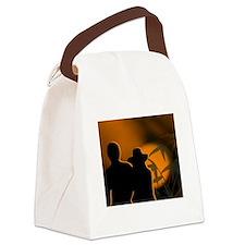 Romance Canvas Lunch Bag