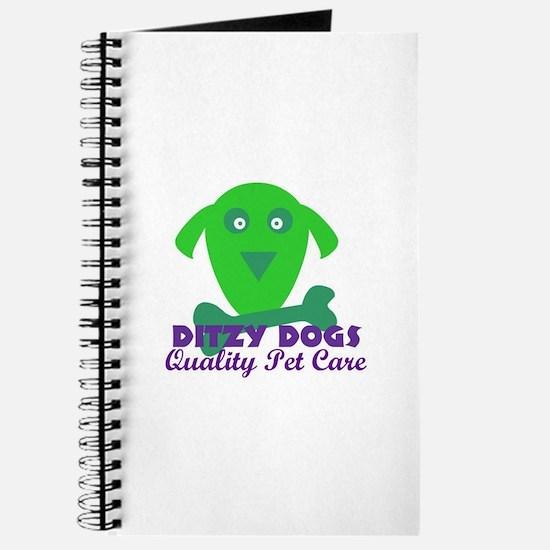 Ditzy Dogs logo Journal