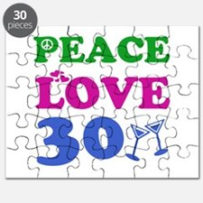 Peace Love 30 Puzzle
