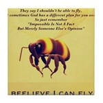 I Believe I Can Fly Tile Coaster