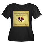 I Believe I Can Fly Plus Size T-Shirt
