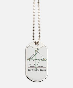 Barrel Racing Dog Tags