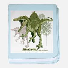 spinosaurus.jpg baby blanket