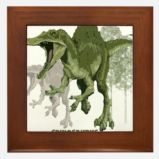 spinosaurus.jpg Framed Tile