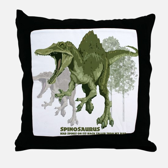 spinosaurus.jpg Throw Pillow