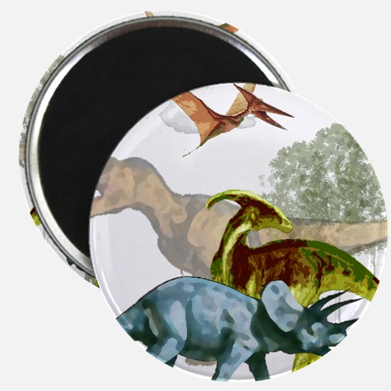"""cretaceous.png 2.25"""" Magnet (100 pack)"""