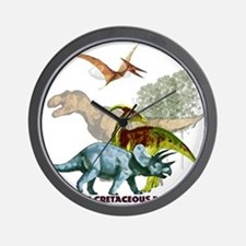 cretaceous.png Wall Clock