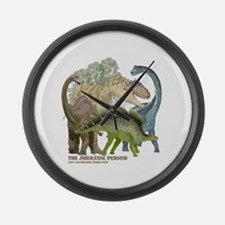 jurrassic.png Large Wall Clock