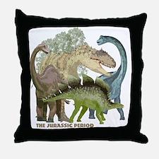 jurrassic.png Throw Pillow