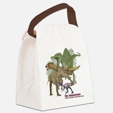 theropods.jpg Canvas Lunch Bag