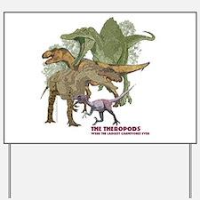 theropods.jpg Yard Sign