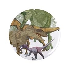 """theropods.jpg 3.5"""" Button (100 pack)"""