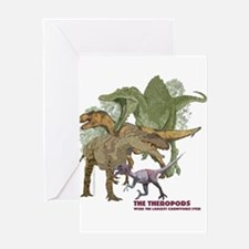 theropods.jpg Greeting Card