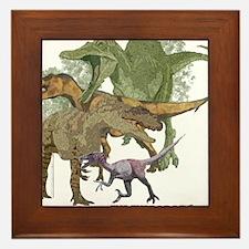 theropods.jpg Framed Tile