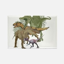 theropods.jpg Rectangle Magnet
