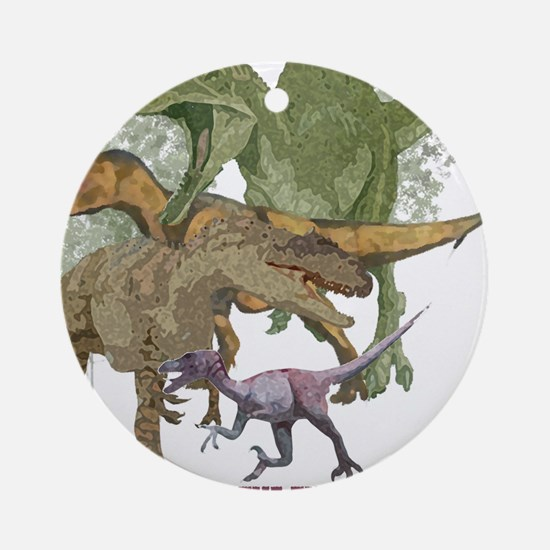 theropods.jpg Ornament (Round)