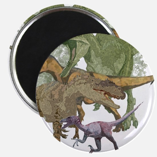 """theropods.jpg 2.25"""" Magnet (100 pack)"""