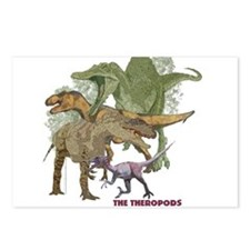 theropods.jpg Postcards (Package of 8)
