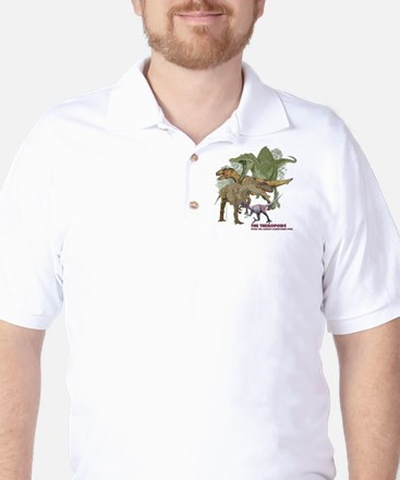 theropods.jpg Golf Shirt
