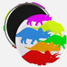 """Triceratops Family 2.25"""" Magnet (10 pack)"""