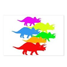 Triceratops Family Postcards (Package of 8)