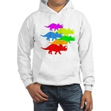 Triceratops Family Hoodie
