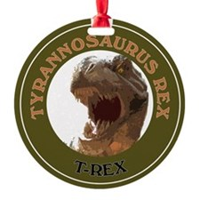 Cute Raptor dinosaur Ornament