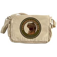 Cute Raptor Messenger Bag