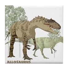 allosaurus.jpg Tile Coaster