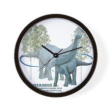 apatosaurus.jpg Wall Clock