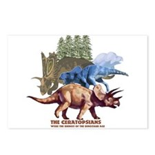 ceratopsians.jpg Postcards (Package of 8)