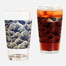 japanese ocean waves landscape Drinking Glass
