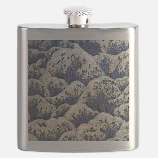 japanese ocean waves landscape Flask