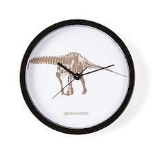 apatosaurus skeleton.png Wall Clock