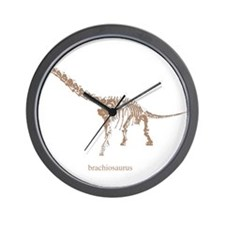 brachiosaurus skeleton.png Wall Clock