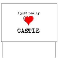 The Love for Castle Yard Sign