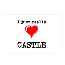 The Love for Castle Postcards (Package of 8)