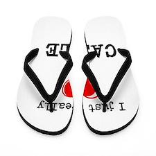 The Love for Castle Flip Flops