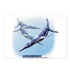 liopleurodon.png Postcards (Package of 8)