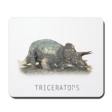3-triceratops.png Mousepad
