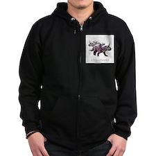 3-styracosaurus.png Zip Hoodie
