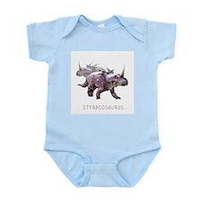 3-styracosaurus.png Infant Bodysuit
