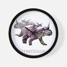 3-styracosaurus.png Wall Clock