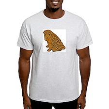 Shar-Pei Ash Grey T-Shirt