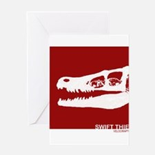 RAPTOR skull.png Greeting Card