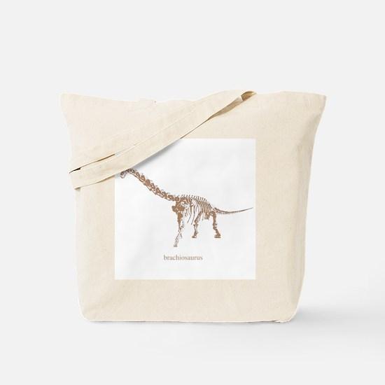 brachiosaurus skeleton.png Tote Bag